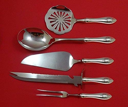 Mount Vernon by Lunt Sterling Silver Thanksgiving Holiday Serving Set 5pc Custom