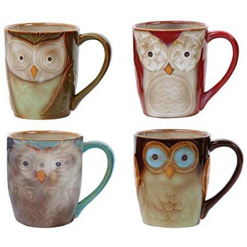 Owl City 17z Mug Asstd De Size 1ct Owl City Mug Asstd 17z