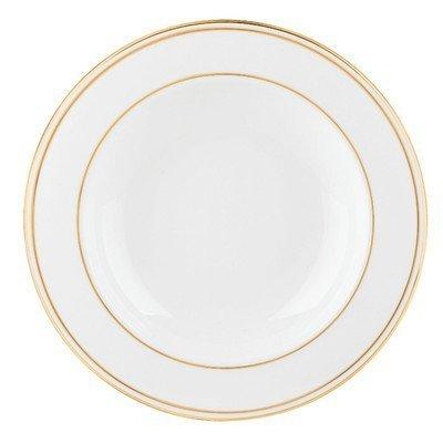 Lenox Federal Gold Bone China Pasta BowlRim Soup by Lenox