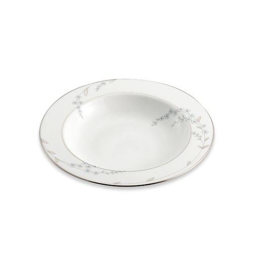 Lenox Rutledge Gold Banded Ivory China Pasta BowlRim Soup