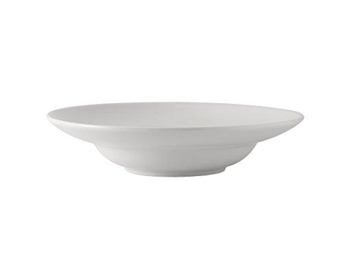 Tuxton BPD-1204 Vitrified China Pasta Bowl 21 oz 12 Porcelain White Pack of 12 Oven-Microwave-Pressure Cooker Safe Freezer to Oven Safe