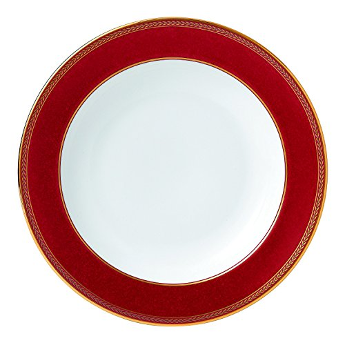 Renaissance Red Rim Soup Plate 9