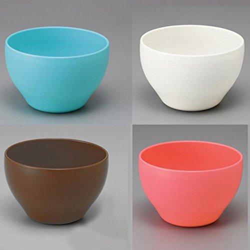DB&PEISHI 4pcs Plastic fruit bowl four-color candy bowl