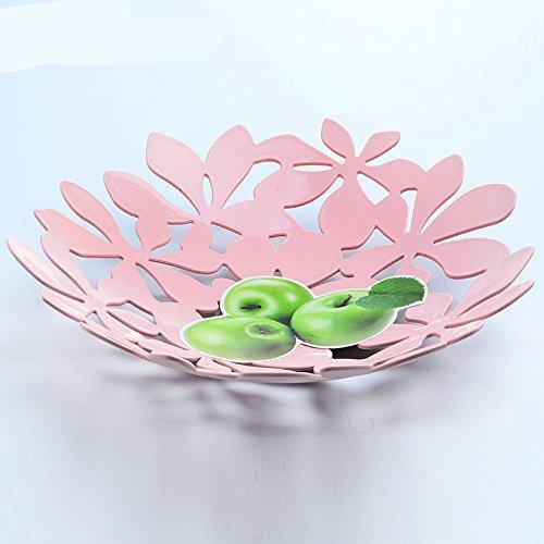 Plastic fruit bowl candy dish fruit plate racksRandom Color