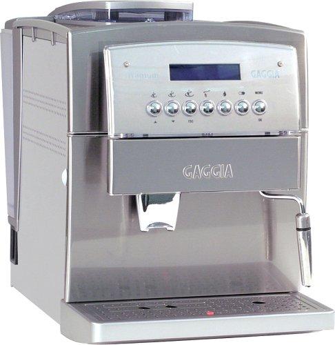 Gaggia 90501 Titanium SS Super Automatic Espresso and Cappuccino Machine Stainless Steel