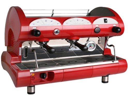 la Pavoni BAR-STAR 2V-R -  2-Group Commercial Espresso Cappuccino machine Red