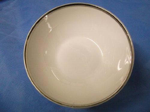 THOMAS CHINA 4MM WIDE PLATINUM 798 - 14cm FRUIT  DESSERT BOWL - NEW -