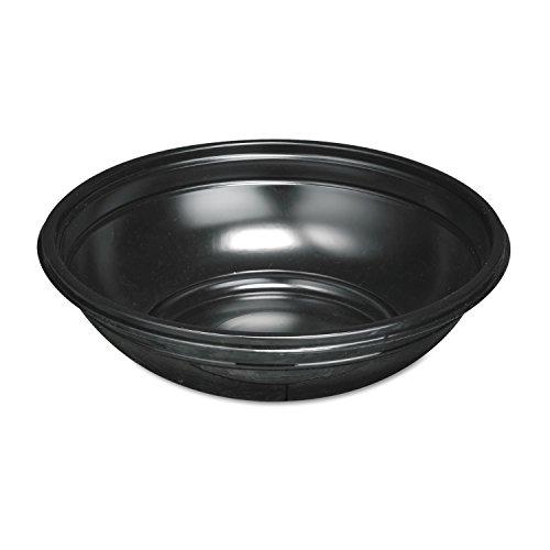 Genpak Black Plastic Bowl 48 Ounce -- 200 per case