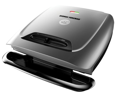 George Foreman Gr2121p 8-serving Classic Plate Grill With Variable Temperature