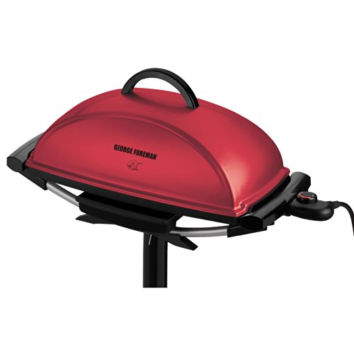 George Foreman Indoor/outdoor Grill, Red
