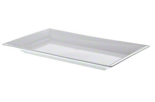American Metalcraft MEL21 Endurance Melamine Rectangular Platter 21 x 13 White