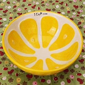 SUVERAAN Handmade Ceramic Bowl Hand Painted Fruit Watermelon Rice Bowl Soup Ceramic Bowl