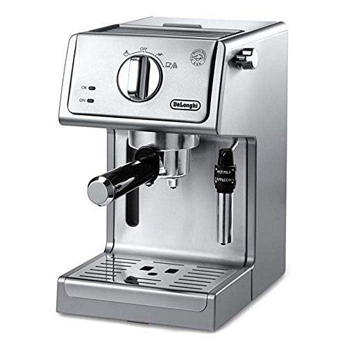 "De'longhi Ecp3630 15"" Bar Pump Espresso And Cappuccino Machine, Stainless Steel"
