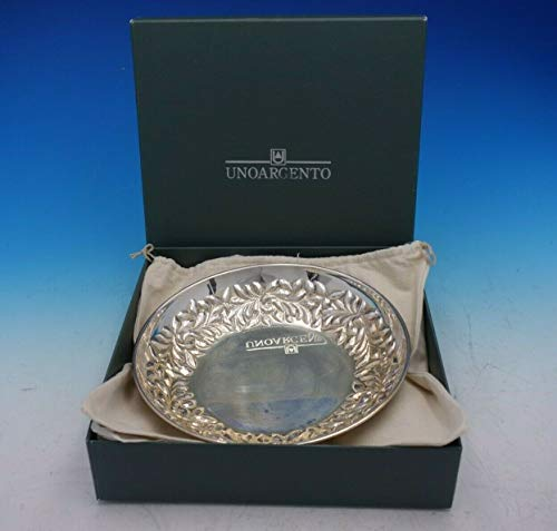 Uno Argento Italian Italy Sterling Silver Fruit Bowl New in Box 78 4530