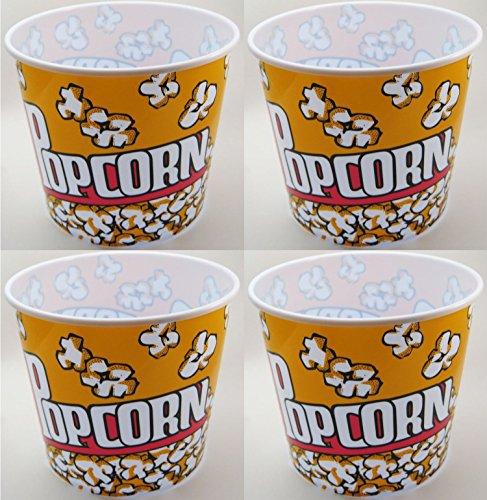 Popcorn Serving Tub 75 X 75- Set of 4 Bowls
