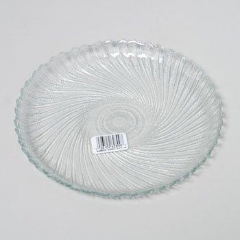 PLATE 75 IN DESSERT GLASS SEABREEZE LUMINARC 199 Case Pack of 6