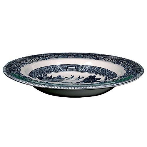 Johnson Bros Blue Willow Rim Soup Bowl