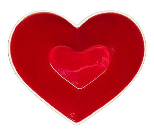 Sagaform 5016202 Sweet Heart Bowl Red
