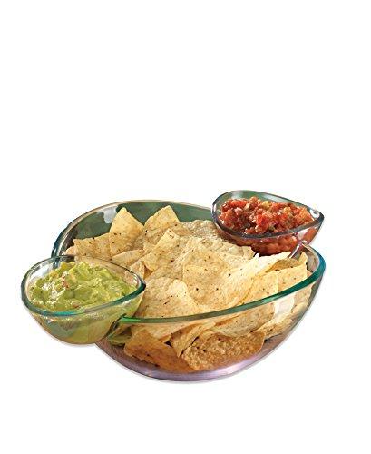 Acrylic Chip and Dip Bowls