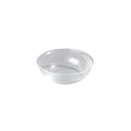 Carlisle Clear 10 Qt Pebbled Acrylic Bowl