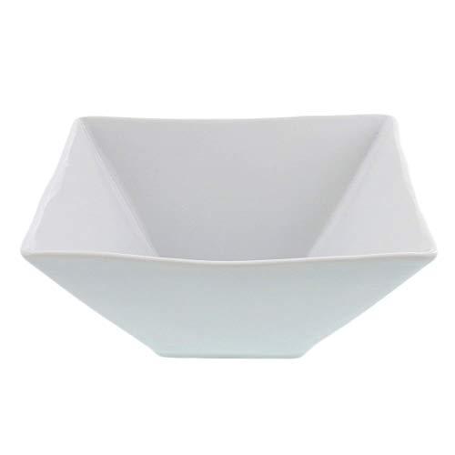Zen Table Japan STUDIO BASIC Original White Square Bowls Made in Japan - Large
