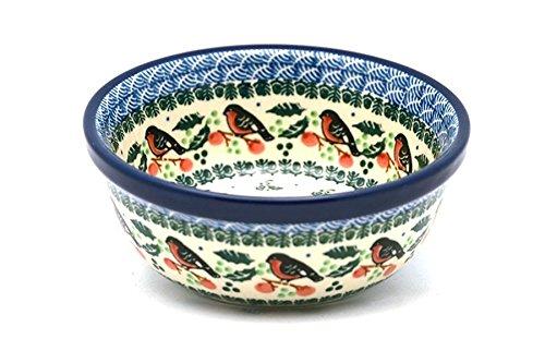 Polish Pottery Bowl - Soup and Salad - Red Robin