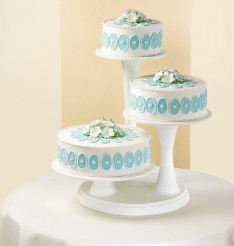 Wilton 307-350 3-Tier Pillar-Style Cake and Cupcake Stand