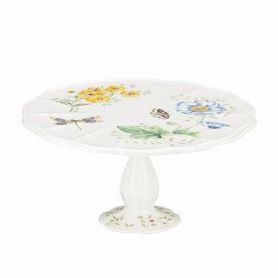 Lenox Butterfly Meadow 10 Pedestal Cake Plate