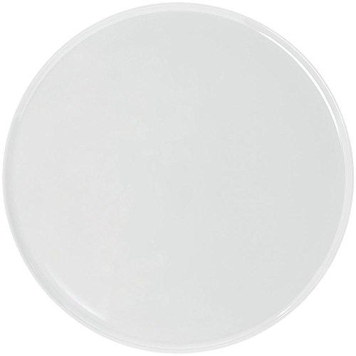 Elite Round White Melamine Platter -14 12Dia x 1H