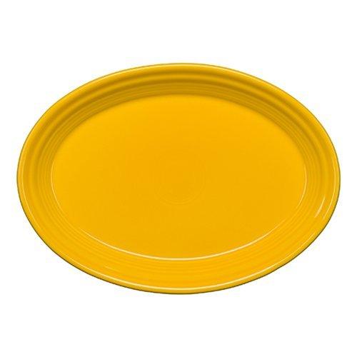Homer Laughlin 456-342 9-58 Small Oval Platter Daffodil