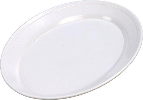 Carlisle ARR12002 Melamine Oval Platter 12 x 85 x 107 White Case of 12