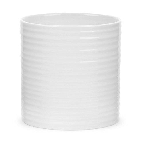 Portmeirion Sophie Conran White Oval Utensil Jar