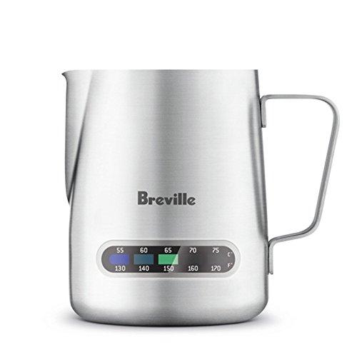 Breville Stainless Steel Temp Control Milk Jug 16oz Capacity BES003XL