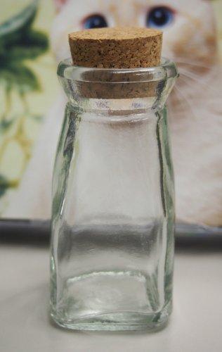Milk Jug Jar Glass Favor Bottle with Cork 425 1-pack