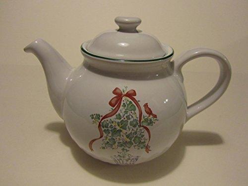 Corelle Callaway Holiday 1qt Teapot