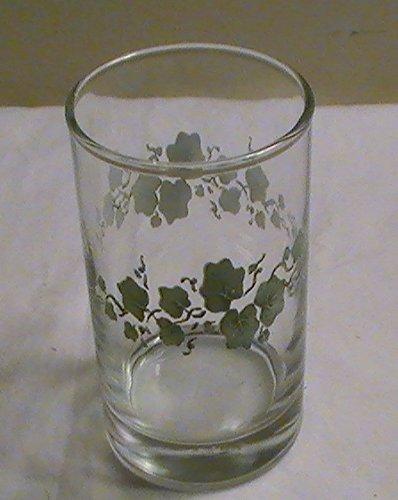 Corelle Callaway Ivy Glassware 6 Oz Juice Glasse