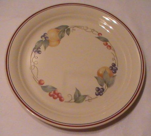 Corning Corelle Abundance Dinner Plates - Four 4 Plates