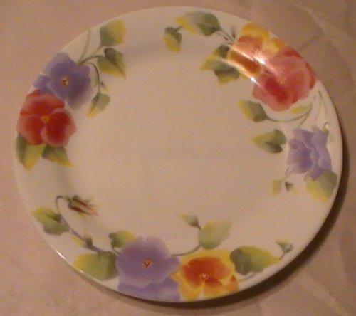 Corning Corelle Summer Blush 7 14 Salad Plates - Set of 4 Plates