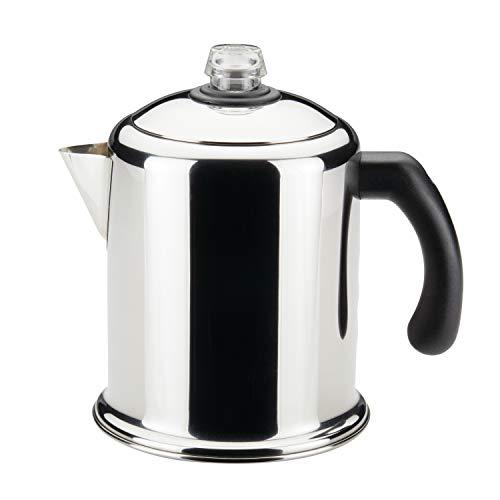 Farberware 50124 Classic Yosemite Stainless Steel Coffee Percolator - 8 Cup Silver