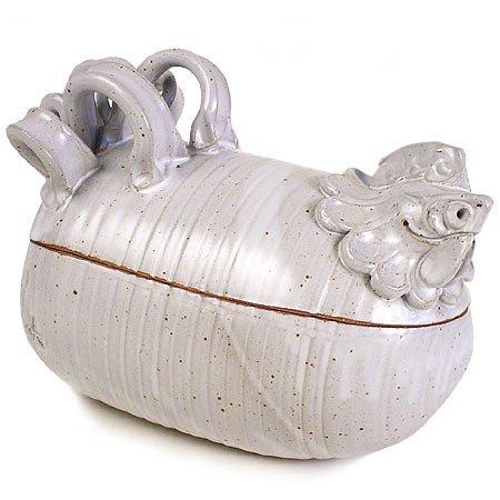 Chicken CookerRoaster Handmade Stoneware Pottery
