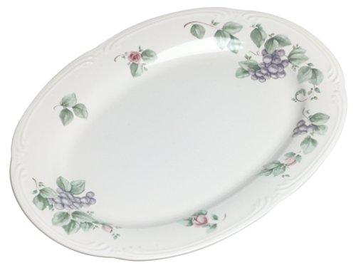 Pfaltzgraff Grapevine 14-Inch Oblong Platter