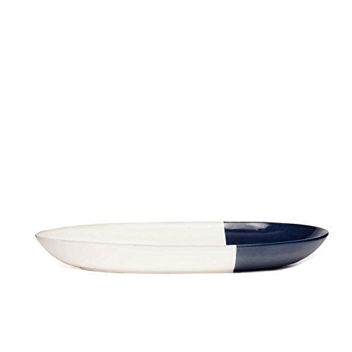 Dipped Ceramic Serving Tray Platter