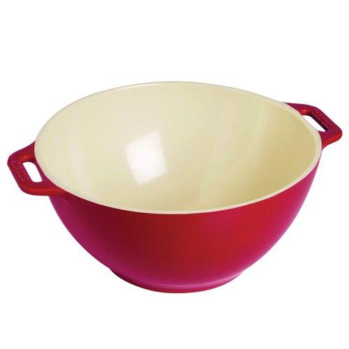 Staub 40510-800 15 quart Ceramic Small Serving Bowl 7 Cherry