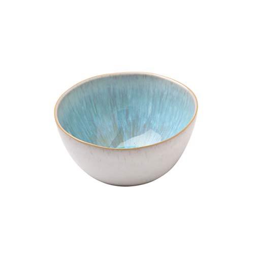 Casafina Ibiza Collection Fine Stoneware Ceramic Oval Bowl Small 10 Sea