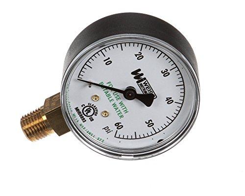 American Dish Service 299-1003 Pressure Gauge Water Supply 9 Height 6 Width 5 Length