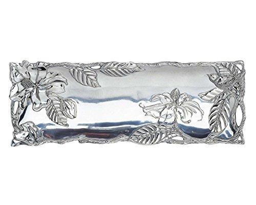 Arthur Court Magnolia 17-Inch Oblong Tray
