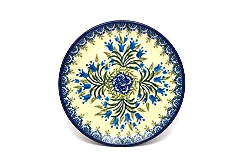 Polish Pottery Plate - Bread Butter 6 14 - Blue Bells