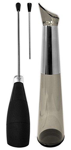 Electric Wine Aerator Pourer - Premium Aerating Pourer and Decanter Spout Black