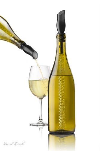 Final Touch Kool Twister Wine Bottle Chiller