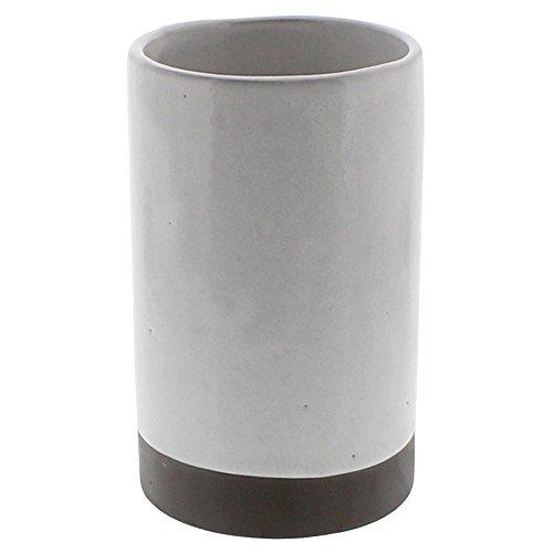 Retro Classic Ceramic Wine Bottle Chiller  White Cooler Vintage Vase
